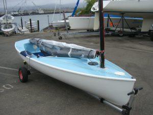 <b>Holger Grygiel -USA 495- präsentiert sein neues Jibetech-Finn</b>