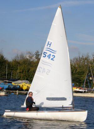 <b>Dirk Zwitser - FX-One Europameister segelt Classic-Finn</b>