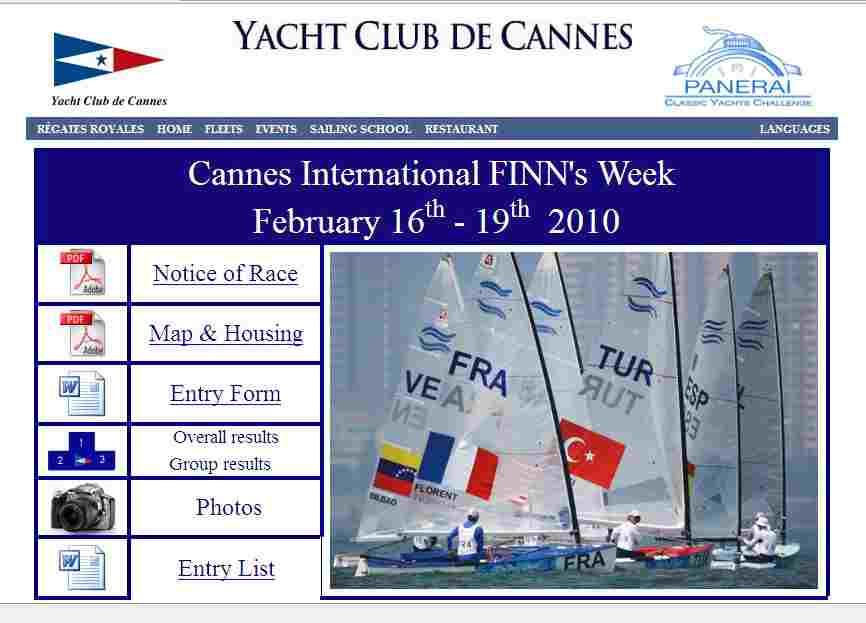 Finn – Cannes – Int. FINN's Week – 16-19. Februar 2010