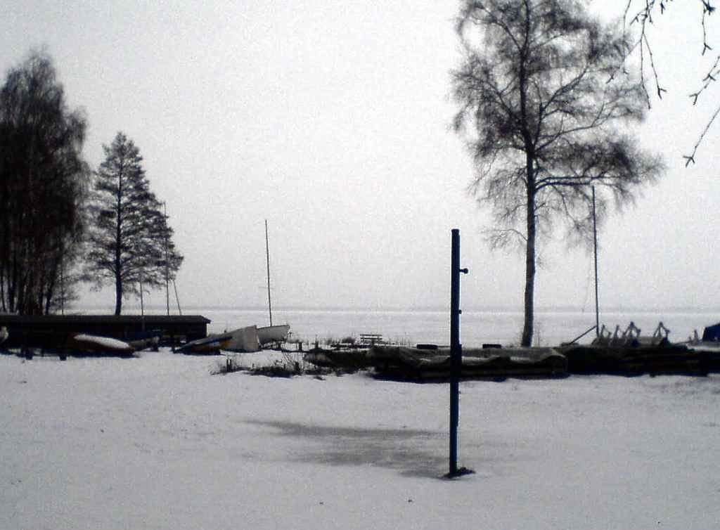 Steinhuder Meer: Saisonstart fiel in's Wasser / Eis :-)