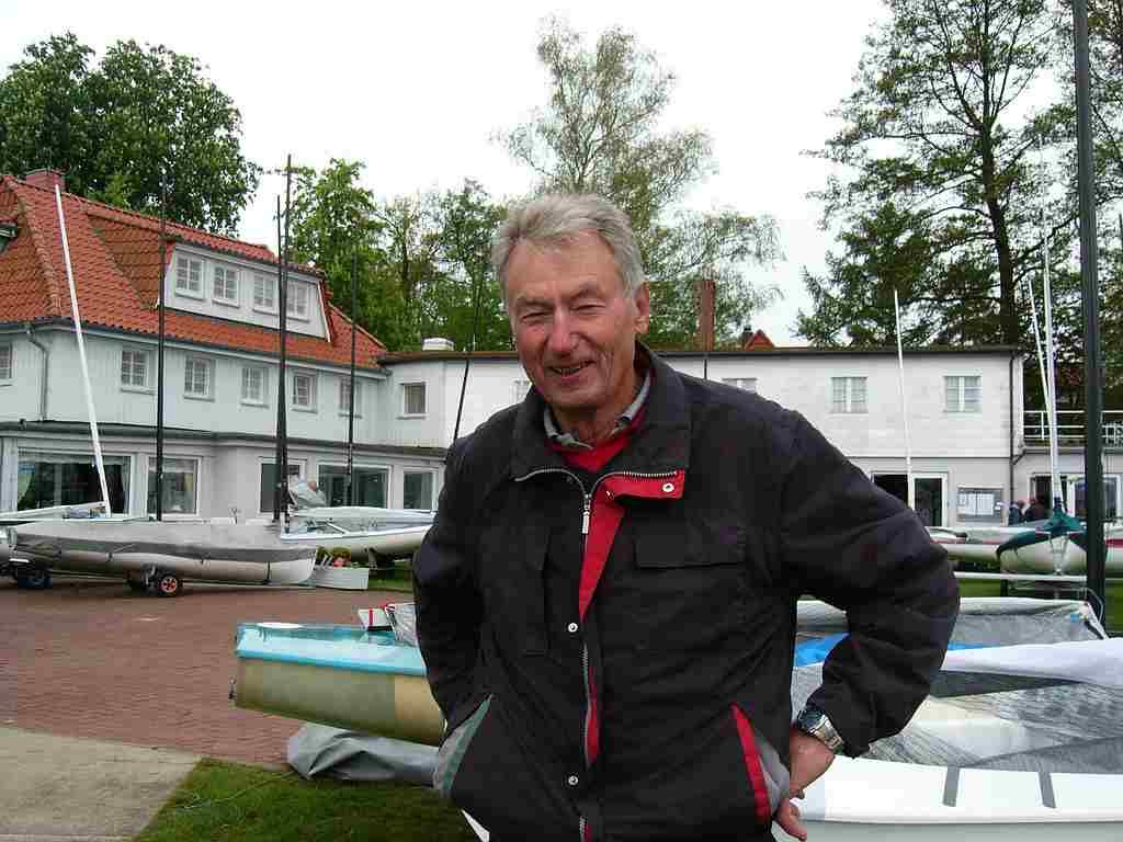 Segellegende Walter Mai – 74 Jahre