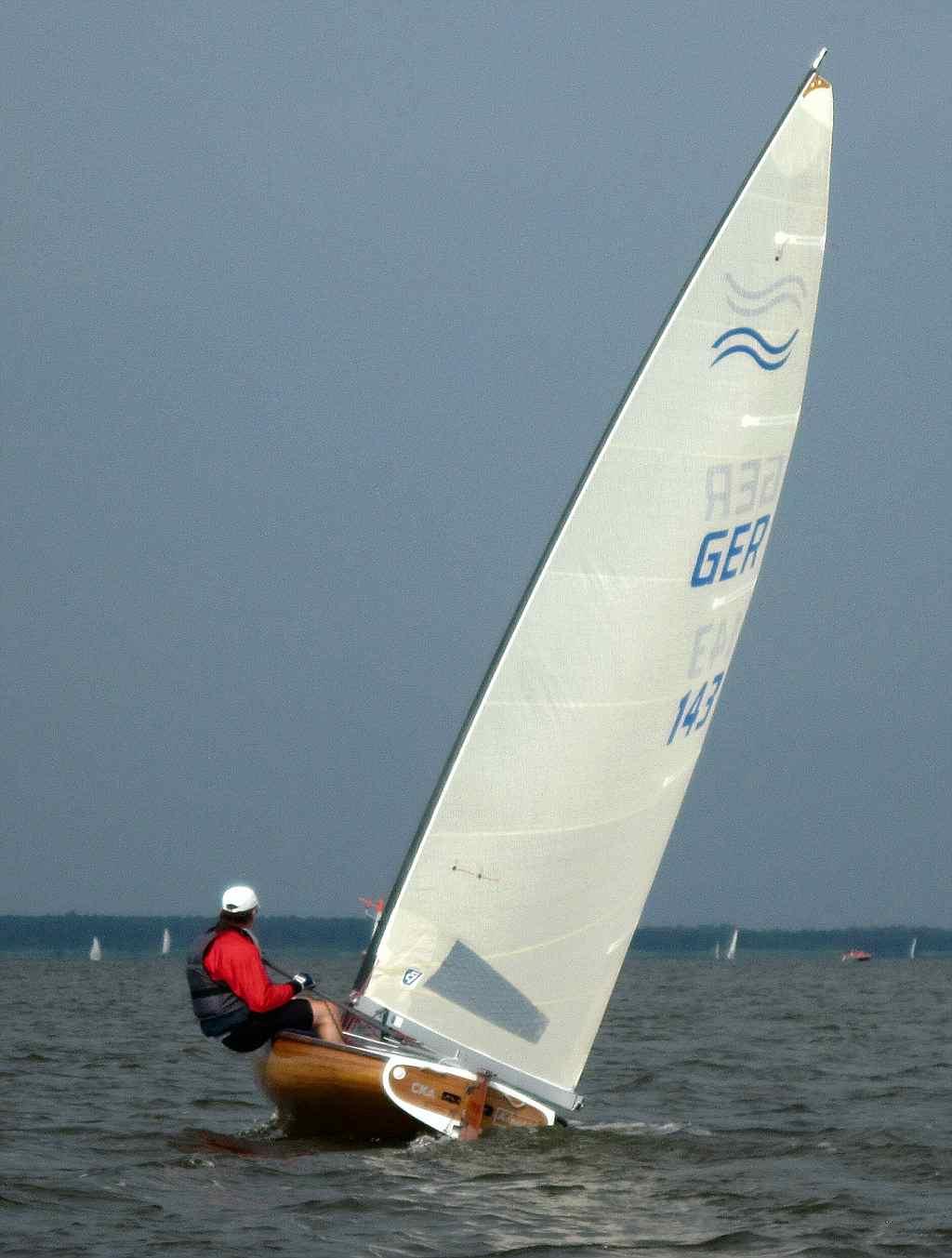 30.6.2010: Auf dem Steinhuder Meer gesichtet