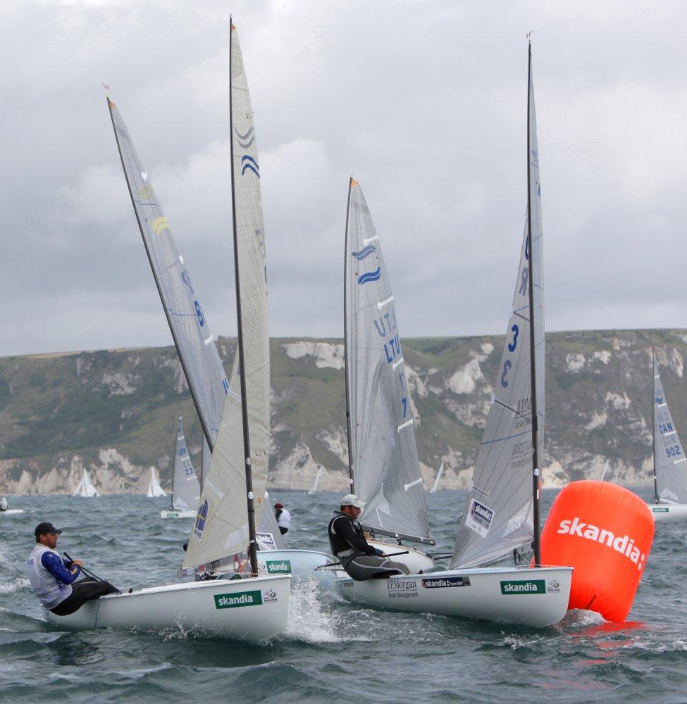 <b>Skandia Sail for Gold Regatta 2011 - Day 2 - Olympiaqualifikation</b>