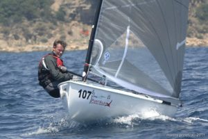<b>Finn World Masters 2011 - day three - very close at the top</b>