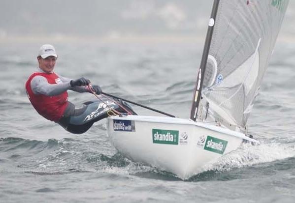 <b>Finn - Skandia Sail for Gold Regatta 2012 - Day 3</b>