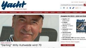<b>Darling Willy Kuhweide wird 70</b>