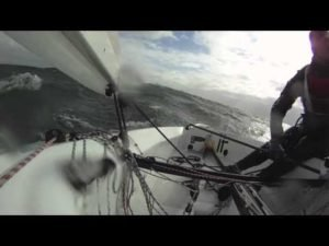 <b>Tapio Nirkko bei 30-40 knots</b>