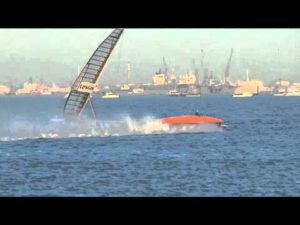 <b>Sailrocket 2 - Neuer Weltrekord - 59,23 knots - 500 m </b>