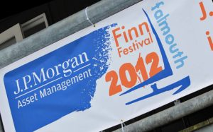 <b>Falmouth welcomes the world Finn elite to JP Morgan Asset Management Finn Gold Cup</b>