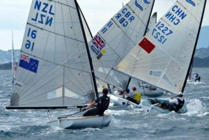 <b>Regatta Hyeres 2013 - Consistent Zbogar takes lead on day two in Hyeres</b>