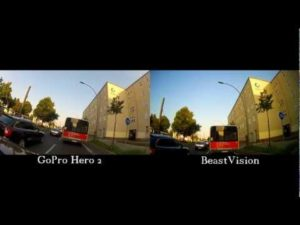 <b>Beast Vision vs GoPro HD2 Test - UNTOUCHED Material!</b>