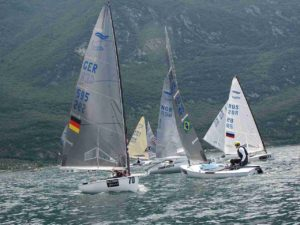 <b>Finn Silver Cup opened at Malcesine</b>