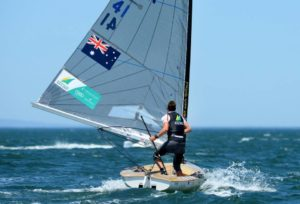 <b>Finn Class at SWC Sail Melbourne 2013 - Photo gallery</b>