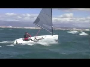 <b>Bear off and capsize in a big breeze - Jonathan Lobert</b>