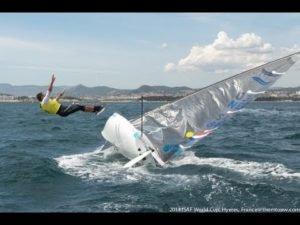 Sailing World Cup Hyères – Finn Medal Race