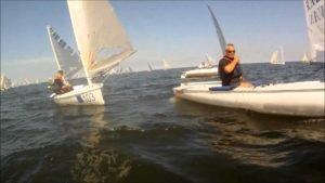 <b>Finn World Masters 2014 - Sopot - 235 Finn sailors having fun</b>