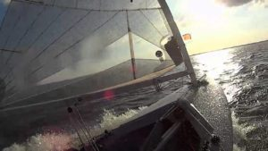 <b>Finn Team brettert über's Steinhuder Meer - 11. Juli 2014</b>