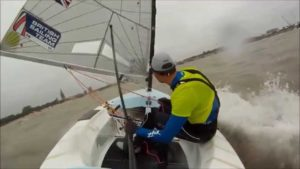 <b>Finn European Championship 2014 - The Medal Race</b>
