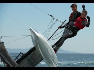 <b>Sailing World Cup Hyeres -  2014 - Medal Race Highlights</b>
