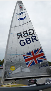 <b>Ben Ainslie - London 2012 North sail</b>