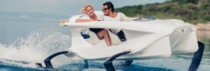 <b>Quadrofoil hydrofoil electric watercraft Q2</b>