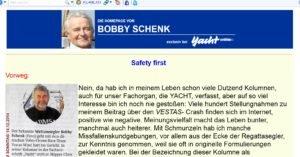 <b>Bobby Schenks Meinung zu der Vestas-Strandung</b>