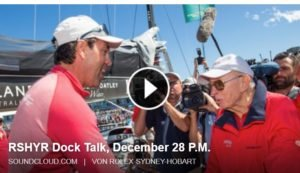 <b>Sydney Hobart Regatta - RSYHR Docktalk - 28. Dez. 2014</b>
