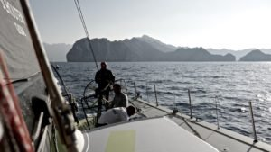 <b>Volvo Ocean Race - 2014 - Team Brunel gewinnt die 2. Etappe</b>