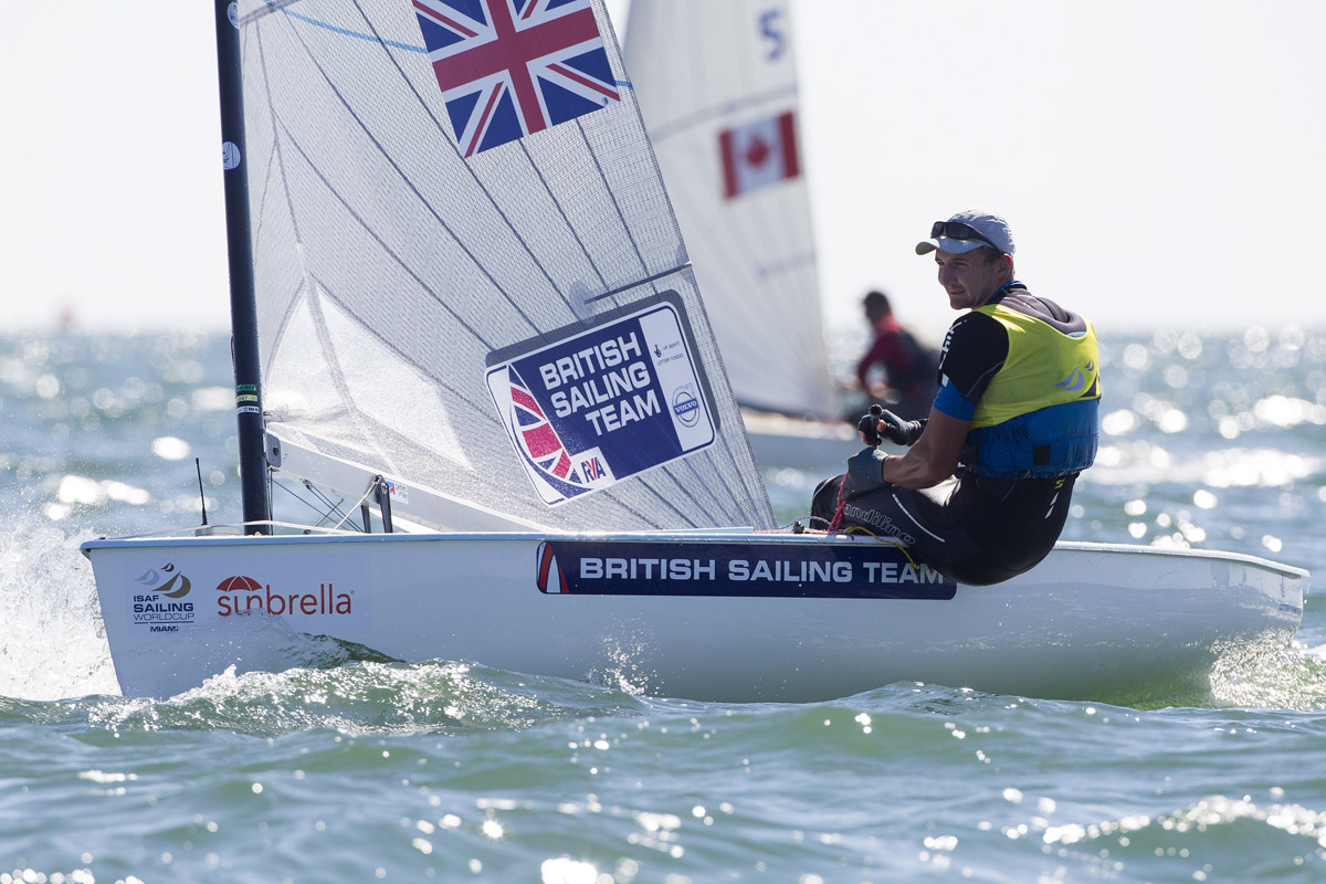 <b>Finn - Joining up the gusts with Giles Scott in Miami</b>