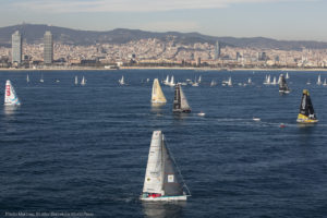 Barcelona World Race 2015 – Sun and Sons shine on Light Winds