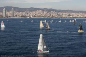 Barcelona World Race 2015 – Sun and Sons shine on Light Winds
