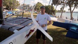 <b>Regatta - 2014 A-Class Worlds - Nathan Outteridge Explains Foiling A-Class</b>