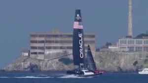 <b>AC45's on San Francisco Bay, Artemis & Oracle, 19 Feb 2015</b>