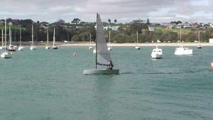 <b>Aus Neuseeland:  the new Shaw 4.0 one-man dinghy - 2015</b>