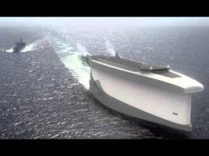 <b>CNN News-'Vindskip' cargo ship uses its hull as a giant sail</b>