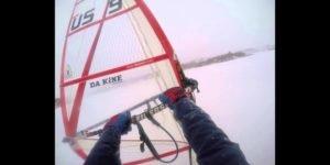 <b>The Sayre Experience - Windsurfing on ice</b>
