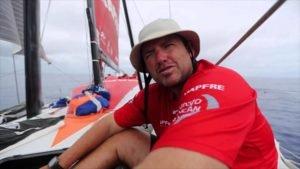 <b>VOR - Finnweltmeister (2007) Rafa Trujillo auf Mapfre in den Doldrums - 2015</b>