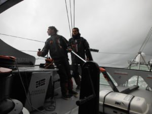 <b>BWR - 2015 - Neutrogena crosses Cape Horn with 40 knots of wind</b>