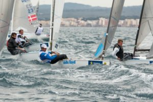 <b>Finn - Jonathan Lobert survives up and down first day to lead Finns in Palma</b>