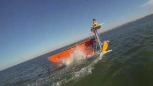 <b>Hobie 16 Trick Sailing</b>