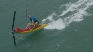 <b>Kite Scooter - a small & fast kite sailing boat</b>