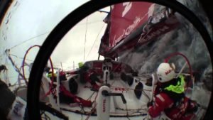 <b>Volvo Ocean Race - Patenthalse, aka Chinese gybe, aka death roll, aka crash gybe</b>