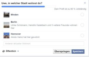 Facebook: Uwe, in welcher St...