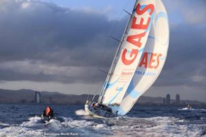 <b>Loud and Clear: Corbella and Marn are third in the Barcelona World Race 2014-15 on GAES Centros Aud...</b>