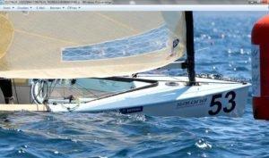 <b>Womit segelt Deniss Karpak - Gewinner der 4.  und 7. EM-Wettfahrt</b>