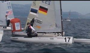 <b>Regatta - Finn Europameisterschaft 2015 - Tag 2 - race 3</b>