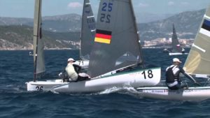 <b>Regatta - Finn Europameisterschaft 2015 - Tag 1 - Update</b>