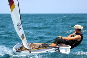 <b>Regatta - Finn Junioren WM 2015 - Valencia - Tag 1</b>