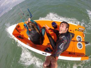 <b>Kite-Sailing - die Zukunft des Segelns ?</b>