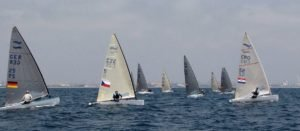<b>Regatta - Finn Junioren WM 2015 - Valencia - Tag 2</b>